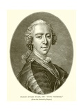 "Charles Edward Stuart, the ""Young Pretender"" Giclee Print by Louis M. Tocque"