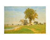 Old Elm at Medfield Giclee Print by George Snr. Inness