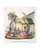 Brahmin Schoolmaster, 1827-35 Giclee Print by M.E. Burnouf