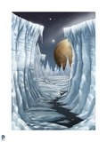 Superman: Icy Planet Surface Art