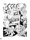 Justice League: All Star No. 43 (Black and White) Print