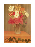 Vase of Flowers Giclee Print by Henri Rousseau