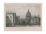 The Post Office and St Paul's Cathedral Giclee Print by Clarkson R.A. Stanfield