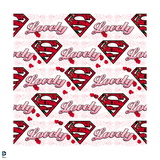 "Superman: Superman Logo ""Lovely"" Wallpaper Prints"