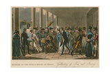 Outside of the Opera House; Gallantry of Tom and Jerry Giclee Print by I. Robert & George Cruikshank