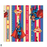 Superman: Superman Flying Pattern Poster