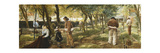 The Twine Walk, Lowestoft, 1876 Giclee Print by Charles J. Staniland