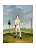 Hoyles the 'Spider Champion of the Feather Weights' Giclee Print by A. Clark