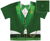 Lucky Leprechaun Costume Tee Sublimated
