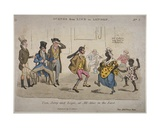 Figures Drinking Amd Dancing at the Coach and Horses on Nightingale Lane, Illustration from 'Life… Giclee Print by J.l. Marks