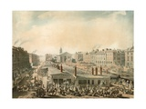 Covent Garden, London Giclee Print by T. & Pugin Rowlandson