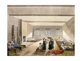 Pass-Room, Bridewell, from Ackermann's 'Microcosm of London' Giclee Print by T. & Pugin Rowlandson