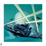 Batman: The Batmobile Driving Posters