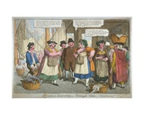 scandal Refuted, or Billingsgate Virtue', 1818 Giclee Print by C. Williams