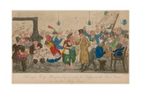 Tom and Jerry Masquerading it Among the Cadgers in the 'Back Slums' in the Holy Land Giclee Print by I. Robert & George Cruikshank