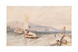 Castle Douglas, Loch Leven, 1849 Giclee Print by Clarkson R.A. Stanfield