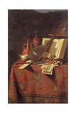 Vanitas Still Life Giclee Print by Pieter Gerritsz. van Roestraten