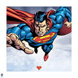 "Superman: Superman Flying Forward ""Superman"" Posters"