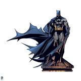 Batman: Batman Standing on a Water Tower with Cape Flowing to the Side Poster