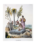 Stonemasons, 1827-35 Giclee Print by M.E. Burnouf