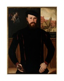 Portrait of Jan Van Eyewerve, 1551 Giclee Print by Pieter Jansz. Pourbus