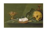 Vanitas, 1628 Giclee Print by Willem Claesz. Heda