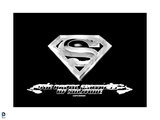 Superman: Superman Logo in Black Posters