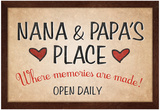 Nana and Papa's Place Prints