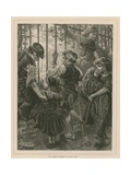 Gay Hope Is Theirs by Fancy Fed Giclee Print by Charles J. Staniland