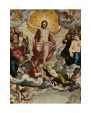 Detail of the Last Judgement, 1551 Giclee Print by Pieter Jansz. Pourbus