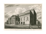 Exterior North East View of Covent Garden Theatre, London, from Bow Street Giclee Print by C. John Mayle Whichelo