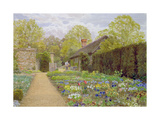 The Pansy Garden, Munstead Wood, Surrey, Home of Gertrude Jekyll Giclee Print by Thomas H. Hunn
