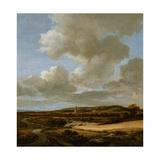 Landscape with Cornfield, 1660-69 Giclee Print by Jacob Isaaksz. Or Isaacksz. Van Ruisdael