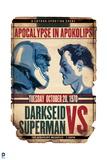 Superman: Superman vs Darkseid Art