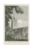 St Dunstan's in the East, London Giclee Print by Pieter Jansz. Quast