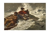 Grace Darling Giclee Print by Charles J. Staniland