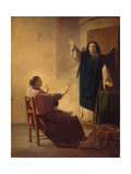 The Angel Appearing to Anna Giclee Print by Pieter Fransz. de Grebber
