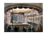 Sadlers Wells, from Ackermann's 'Repository of Arts', 1809 Giclee Print by T. & Pugin Rowlandson