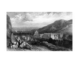 Holyrood from the Calton-Hill, Engraved by William Miller, 1842 Giclee Print by Clarkson R.A. Stanfield