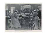 The New Light Cure: a Sketch in the London Hospital Giclee Print by Percy F.s. Spence