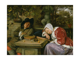 The Sleeping Couple, C.1658-60 Giclee Print by Jan Havicksz. Steen