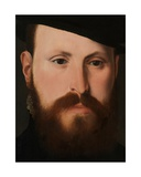 Detail of Portrait of Jan Van Eyewerve, 1551 Giclee Print by Pieter Jansz. Pourbus