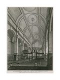 Church of St Peter Upon Cornhill, London Giclee Print by C. John Mayle Whichelo