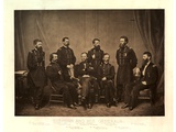Sherman and His Generals [Blair Added from Another Negative before Printing], 1865 Photographic Print by George N. Barnard