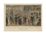 Highest Life in London Giclee Print by I. Robert & George Cruikshank