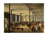 Workhouse, St. James's Parish, from Ackermann's 'Microcosm of London' Giclee Print by T. & Pugin Rowlandson