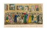 A Shilling Well Spent: Tom and Jerry at the Exhibition of Pictures at the Royal Academy Giclee Print by I. Robert & George Cruikshank