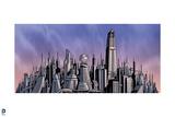 Superman: Metropolis Panorama Prints