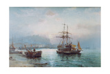 Scarborough Harbour Giclee Print by William A. Thornley or Thornbery