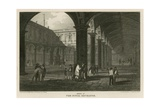 Interior of the Royal Exchange, London Giclee Print by Pieter Jansz. Quast